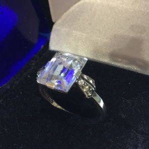 Jewelry - Vintage CZ Sterling Ring